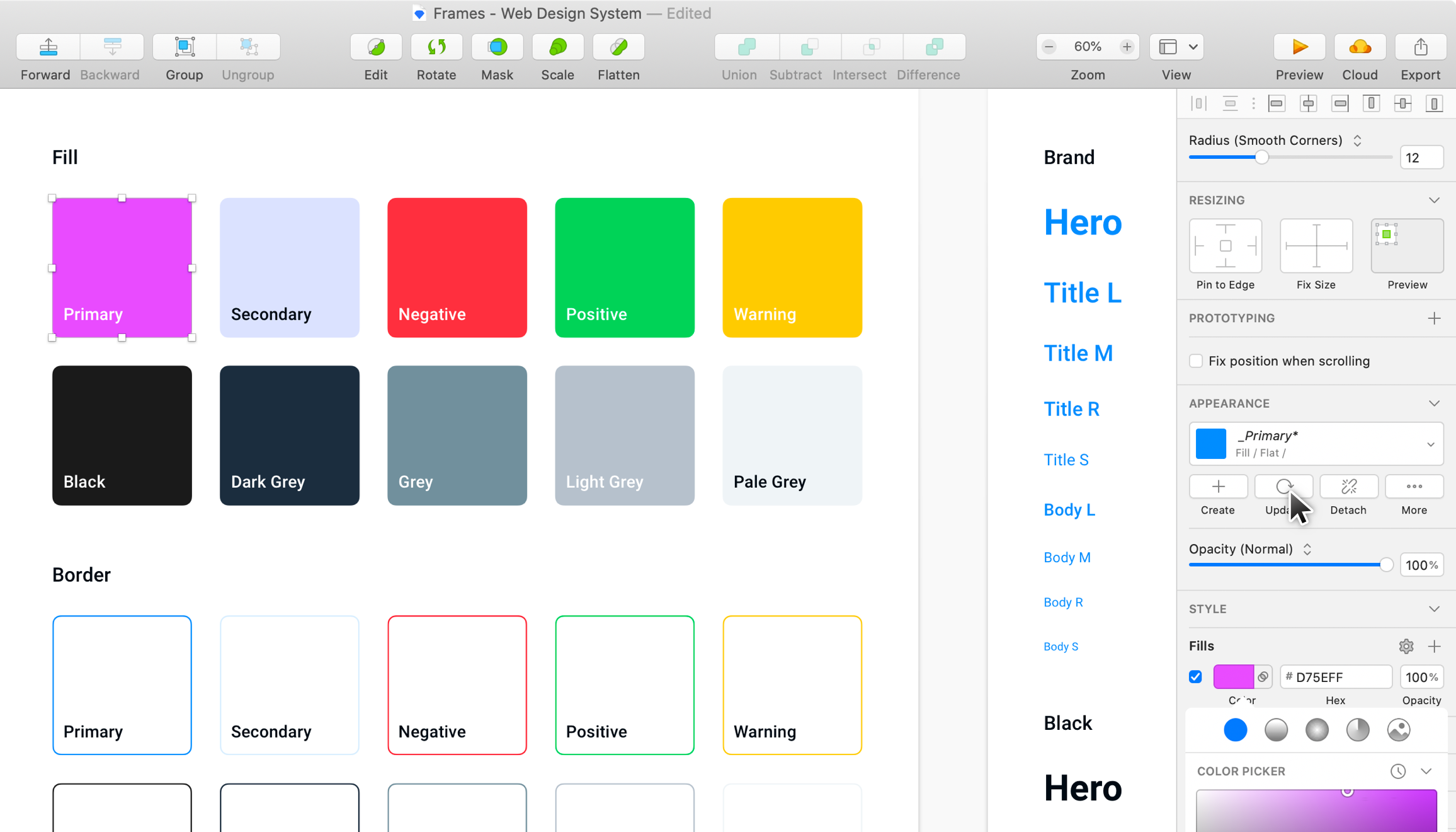 Frames for Sketch - Web Design Kit