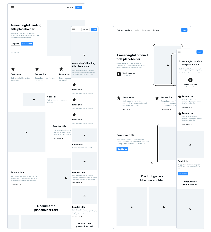 Frames 2 Web Design System Ui Kit For Sketch App